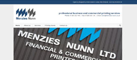 Menzies Nunn web design thumb