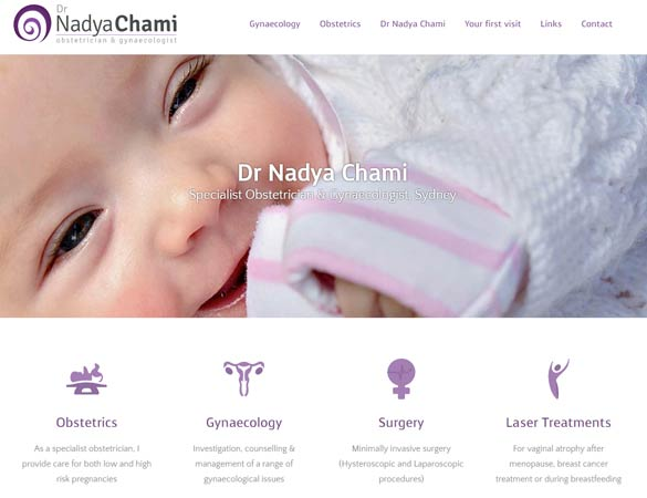 Dr Nadya Chami Homepage