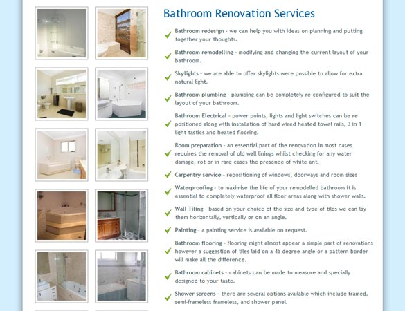 Outlook Bathrooms service pictures